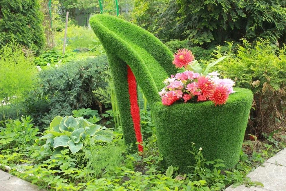 Туфелька 110 x 60 x 115 см – Садовые фигуры купить в СПб.